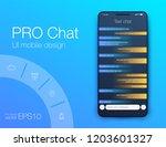 vector illustration of screens...   Shutterstock .eps vector #1203601327