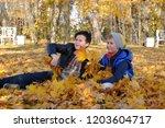 pushkin  russia october 14 ... | Shutterstock . vector #1203604717