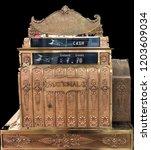 Antique Vintage Cash Register...