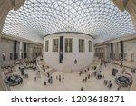 london  uk   october 2018  the... | Shutterstock . vector #1203618271