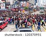 hong kong  nov 24  shoppers and ...
