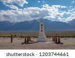 usa  california  inyo county ...   Shutterstock . vector #1203744661