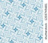 modern cool blue monochromic... | Shutterstock .eps vector #1203745681