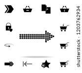 point arrow icon. web icons...