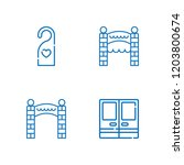 collection of 4 approach... | Shutterstock .eps vector #1203800674
