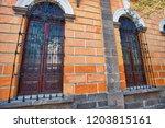 guadalajara streets in historic ...   Shutterstock . vector #1203815161
