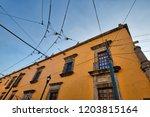 guadalajara streets in historic ...   Shutterstock . vector #1203815164
