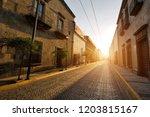 guadalajara streets in historic ...   Shutterstock . vector #1203815167