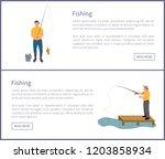 Fishing People Wearing Waders...