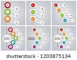 modern infographic choice... | Shutterstock .eps vector #1203875134
