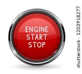 engine start stop button with... | Shutterstock .eps vector #1203918277