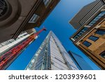 london  uk   october 10  2018 ... | Shutterstock . vector #1203939601