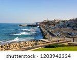 tel aviv jaffa   october 13 ... | Shutterstock . vector #1203942334