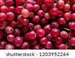 Ripe Sweet Grapes  Closeup
