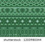 navajo american indian pattern... | Shutterstock .eps vector #1203980344