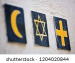 Set of 3 religious symbols ...