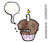 cartoon cupcake | Shutterstock .eps vector #120402574