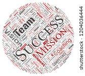 vector conceptual business... | Shutterstock .eps vector #1204036444