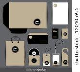stationery design set in... | Shutterstock .eps vector #120405955