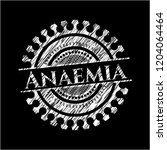 anaemia on blackboard   Shutterstock .eps vector #1204064464