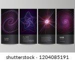 the minimalistic vector...   Shutterstock .eps vector #1204085191
