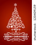 Abstract Christmas Tree. Eps 8