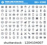 vector pack containing over 90... | Shutterstock .eps vector #1204104007