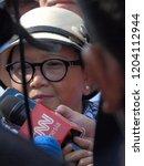 jakarta  indonesia   14 october ... | Shutterstock . vector #1204112944