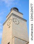 clock tower in brescia  italy.... | Shutterstock . vector #1204120477