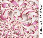 silk texture fluid shapes ... | Shutterstock .eps vector #1204129621