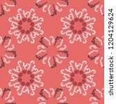 lavish branches elegant... | Shutterstock .eps vector #1204129624