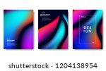 abstract gradient background | Shutterstock .eps vector #1204138954