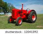 A Restored Tractor Used In...