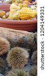 autumn vegetables and fruits | Shutterstock . vector #1204149331