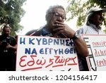 pensioners take part in a... | Shutterstock . vector #1204156417