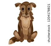 old dog icon. cartoon of old...   Shutterstock .eps vector #1204178821