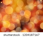 pale orange gold glowing... | Shutterstock . vector #1204187167