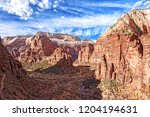 from the east mesa trail  above ... | Shutterstock . vector #1204194631
