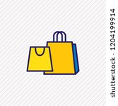 vector illustration of shopping ...