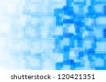 blue square abstract  background | Shutterstock . vector #120421351