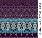 ornamental laced vector texture ... | Shutterstock .eps vector #1204217404