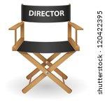 director movie chair vector... | Shutterstock .eps vector #120422395