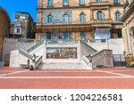caltagirone  italy   september... | Shutterstock . vector #1204226581