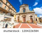 caltagirone  italy   september... | Shutterstock . vector #1204226584