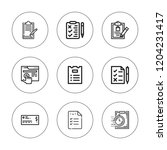 checkbox icon set. collection...