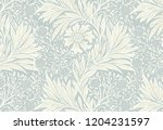 marigold by william morris ... | Shutterstock .eps vector #1204231597
