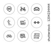 lifestyle icon set. collection...   Shutterstock .eps vector #1204234444