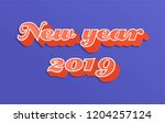 2019 happy new year  3d script...