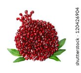 Whole Fruit Shaped Pomegranate...