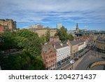 newcastle upon tyne  england ... | Shutterstock . vector #1204271437
